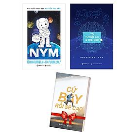 Bộ Sách Kèm Chữ Ký NYM - Tôi Của Tương Lai + Tôi, Tương Lai Thế Giới (Bộ 2 Cuốn) - Tặng Kèm Sách: Cứ Bay Rồi Sẽ Cao
