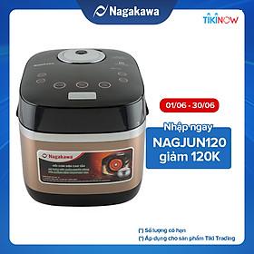 Nồi Cơm Điện Cao Tần Nagakawa NAG0124 (1.8 Lít) - Hàng Chính Hãng