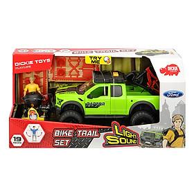 Bộ Đồ Chơi Xe Dickie Toys Playlife - Bike Trail Set (25 cm)