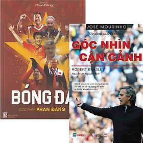 Combo Bóng Đá - Góc Nhìn Phan Đăng + Jose Mourinho - Góc nhìn cận cảnh (Bộ 2 Cuốn)