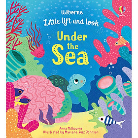 Sách Usborne Little lift and look Under the Sea