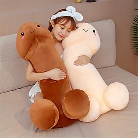 Gấu bông ciu dài cao cấp, gối ôm hình ciu, gấu bông gối ôm ciu ciu dễ thương 100cm