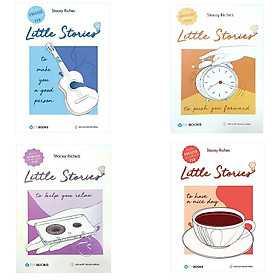 Combo Little Stories (4 Cuốn) - To Have To Nice Day + To Push You Forward + To Help You Relax + To Make You A Good Person