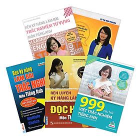 Combo Trọn Bộ 5 Cuốn Sách Tiếng Anh Cô Mai Phương (tặng sổ tay mini dễ thương KZ)