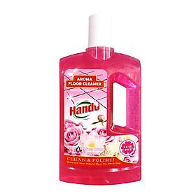 Nước thơm lau sàn nhà Hando 1L hương hồng