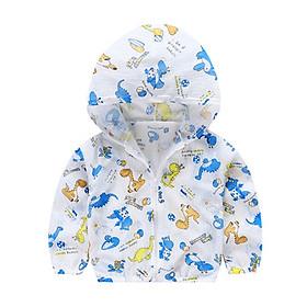 Áo khoác chống nắng cho bé nhiều màu sắc họa tiết đáng yêu không gây bí nóng thoáng mát CN12