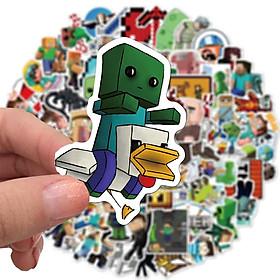 Set 30 Sticker Minecraft