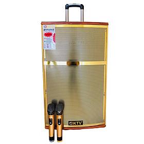 Loa kẹo kéo karaoke bluetooth di động KTV SG2-15 - Hàng chính hãng
