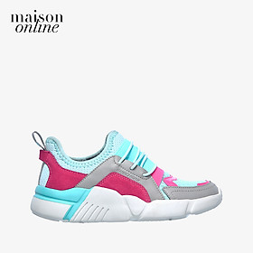 SKECHERS - Giày sneaker trẻ em Block Homeroom 302228L-AQPK