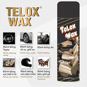 Thùng 12 Bình xịt đánh bóng đa năng Telox Wax 550ml Hương Chanh