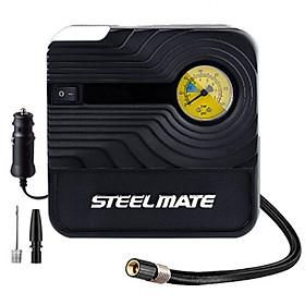 Bơm lốp ô tô xe hơi cao cấp STEEL MATE - Đồng hồ cơ siêu bền- HÀNG CHÍNH HÃNG