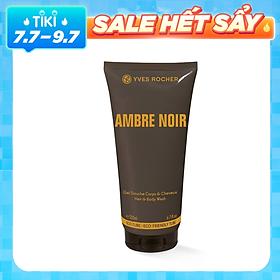 Tắm Gội Cho Nam Yves Rocher Ambre Noir Hair & Body Shampoo (200ml)
