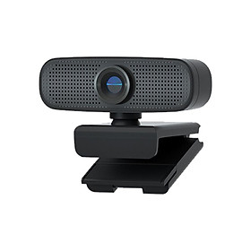 1080P HD Streaming Webcam USB Computer Video Camera 2 Megapixels 80° Wide Viewing Manual Focus with Dual Mic Plug & Play