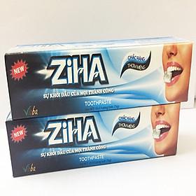 Bộ 2 kem đánh răng ZIHA của Vioba 85g