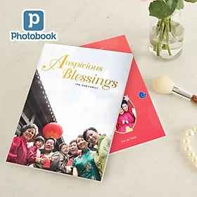 """Photobook: Voucher quà tặng in album ảnh bìa mềm chiều dọc cỡ vừa 8"""" x 11"""" (20 x 28cm) theo yêu cầu"""
