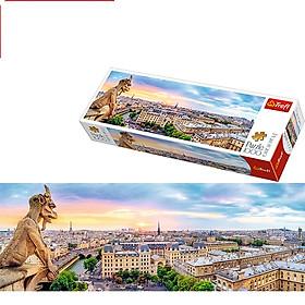 Tranh ghép hình TREFL 29029 - panorama 1000 mảnh Nhìn từ nhà thờ Đức bà, Paris (jigsaw puzzle )