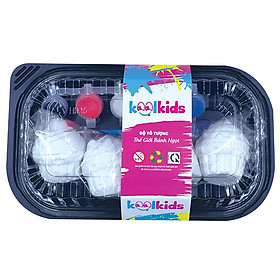Bộ Tô Tượng Thế Giới Bánh Ngọt Kool Kids KK-001