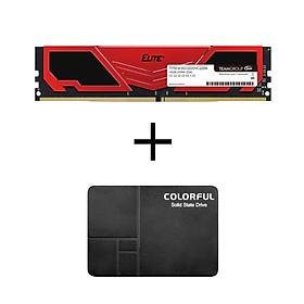 Biểu đồ lịch sử biến động giá bán Combo Khuyến mãi Ram Elite Plus 16GB bus 3200mhz + SSD Colorful SL300 128GB - Hàng Chính Hãng