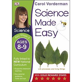 Carol Vorderman: Science Made Easy Ages 8-9 Key Stage 2