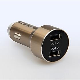 Tẩu Sạc MO81 trên Ô Tô tặng kèm dây sạc USB type C - Giao màu ngẫu nhiên