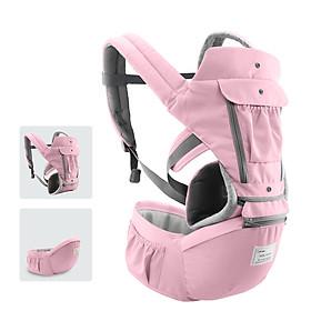 Địu em bé tiện dụng thoáng khí với thiết kế linh hoạt và túi đựng đa chức năng