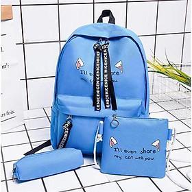 Balo nữ đi học thời trang Ohazo! mới HÓT 2020 - Tặng Túi + Hộp đựng bút Cực Cool - BL135