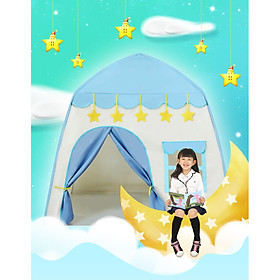 Lều Công Chúa Hoàng Tử S2 Cho Bé Hình Lâu Đài thoải mái vận động -hàng chính hãng