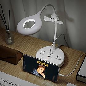 Ổ cắm trống sét đa năng QĐ_20 Tích hợp 3 ổ cắm điện + 2 cổng USB +1 quạt sản phảm không thể thiếu cho ngôi nhà thông minh của ban (Tặng kèm 1 khuân làm bánh gối)
