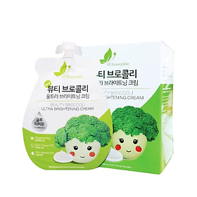 KEM FACE SÚP LƠ - Beauty Broccoli Ultra Brightening Cream ( 2 Túi)