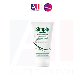 Sữa rửa mặt chống lão hoá Simple Regeneration Age Resisting Facial Wash 150ml