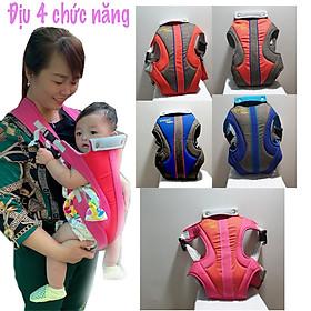 Địu em bé 4 chức năng an toàn tiện lợi khi đi ra ngoài cùng bé, thương hiệu KACHOO được cấp chứng nhận hợp quy