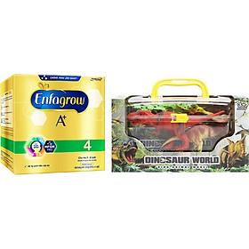 Sữa Bột Enfagrow A+ 4 (2.2kg) - Tặng Bộ Thế Giới Khủng Long