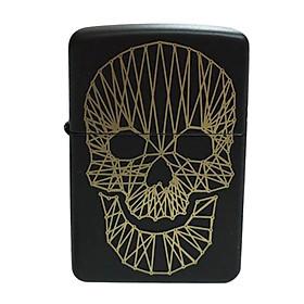 Bật Lửa Zippo 218 String Skull