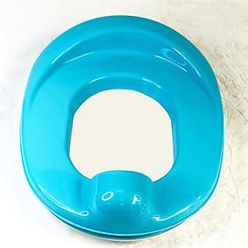 Bệ lót thu nhỏ bồn cầu (bệ ngồi toilet) cho bé từ 6 tháng tuổi trở lên đi vệ sinh (N0462), thiết kế khoa học, chắc chắn, không gây trơn trượt, xuất xứ Thái Lan