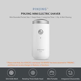 Máy Cạo Râu Điện Cầm Tay Mini Có Thể Sạc Lại Xiaomi Pinjing ED1