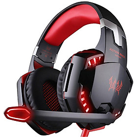 KOTION EACH G2000 Gaming Headset with Microphone PC Gamer 3.5mm Stereo Headphones Noise Cancelling Over Ear Ear Cups for