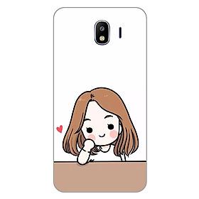 Hình đại diện sản phẩm Ốp lưng dẻo cho Samsung Galaxy J4_Couple Girl 03