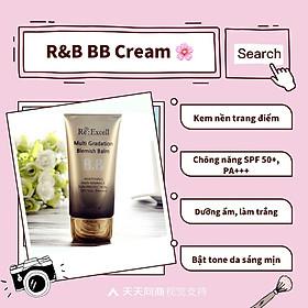Combo trang điểm Daily Beauty gồm Phấn nước CC Cushion + 4 thỏi son lì Re:Excell Lipstick + kem nền BB cream R&B Việt Nam nhập khẩu chính ngạch Hàn Quốc-9