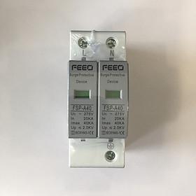 CB thiết bị chống sét lan truyền AC hai chiều bảo vệ mạch bảo vệ quang điện GIVASOLAR FEEO AC 275V 420V