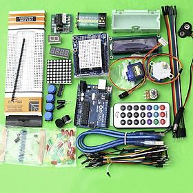 Combo Bộ Kit Học Tập Arduino Uno R3 V1 Cơ Bản