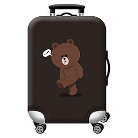 Túi bọc bảo vệ vali - Áo vỏ bọc vali H19