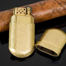 Hột Quẹt Bật Lửa Zorro Z516 Đánh Đá Dùng Xăng (Vàng Nhám)