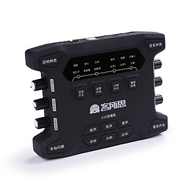 Bộ Thu Âm Live Stream Sound Card XOX K10X
