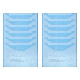 Xấp 12 Bìa Nút A4 CFO 404A (35 x 25 cm) - Màu Ngẫu Nhiên