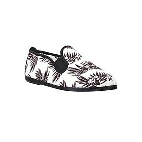 Giày Lười Nữ Flossy W Palmeras Black - Đen