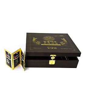 Hộp 60 túi Tinh chất Đông trùng hạ thảo Daedong Hàn Quốc - Daedong Korea Dong Chung Ha Cho Premium (30ml x 60)