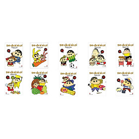 Bộ Shin Cậu bé bút chì - Truyện Ngắn Tập 21 - 30 (Bộ 10 cuốn)