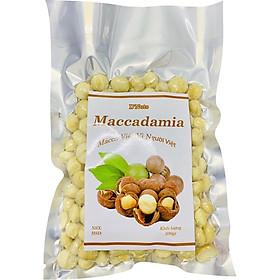 500g Macca Việt - Loại 2 Hạt Nhân Tách Đôi- D'Nuts