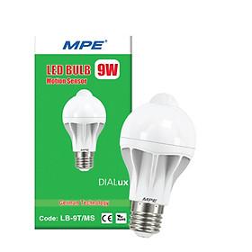 Đèn led bulb cảm biến MPE 9w