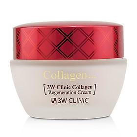 Kem dưỡng trắng da chống lão hóa Hàn Quốc cao cấp 3W Clinic Collagen Regeneration Cream (60ml) – Hàng Chính Hãng-2